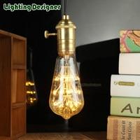Led Lamp E27 Decorative Light Bulb 110v220v Led Edison Bulb St64 Fireworks Lamp Holiday Lights Christmas