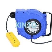 2-3x1.5-2.5MM 10-20M Электрический источник питания шланг катушка, автоматическая выдвижная катушка сантехнические шланги