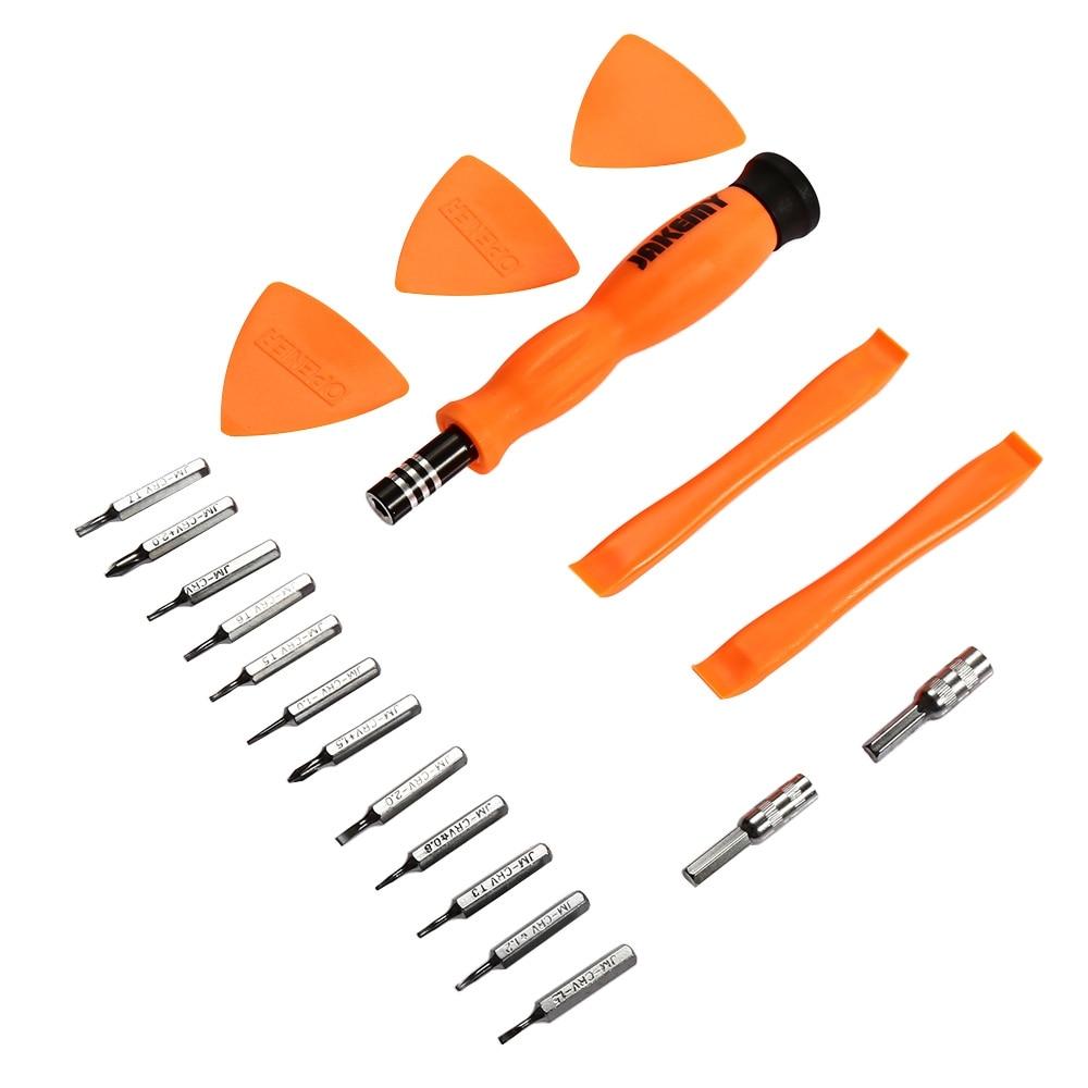 Multitools JM-8156 20in1 Tornavida Seti Torx ScrewDriver Hand Tool Pocket Precision Tool Set Screwdriver Repair Disassemble Tool