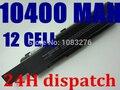 12 celdas 10400 mah batería del ordenador portátil para toshiba satellite pro a200 a210 l300d l300 l550 l500 l550 l450 a300 pa3534u-1brs