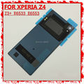 3pcs New Battery Cover For Sony Xperia Z4 Z3+ Dual E6553 E6533 Back Door Housing Glass+Waterproof Sticker Adhesive + NFC