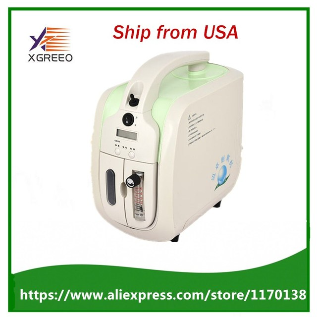 New 90% hospital use medical portable oxygen concentrator generator home with adjustable 1-5LPM adjustable oxygen purity