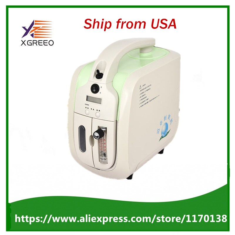 Nuovo 90% uso ospedaliero medico concentratore di ossigeno portatile generatore di casa con regolabile 1-5LPM purezza dell'ossigeno regolabile