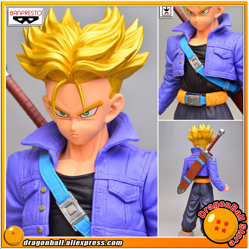 Japan Anime DragonBall Dragon Ball Z Original BANPRESTO Master Stars Piece (MSP) Collection Figure - Super Saiyan Trunks japan anime one piece original banpresto super master stars piece collection figure portgas d ace