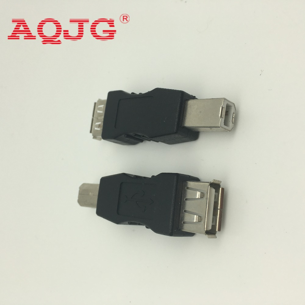 USB2.0 A TYPE Female to USB B male plug adapter for printer device USB AF TO USB BM Printer usb connector best price portable usb 2 0 type a male to usb type b female plug extend printer adapter converter new arrival for