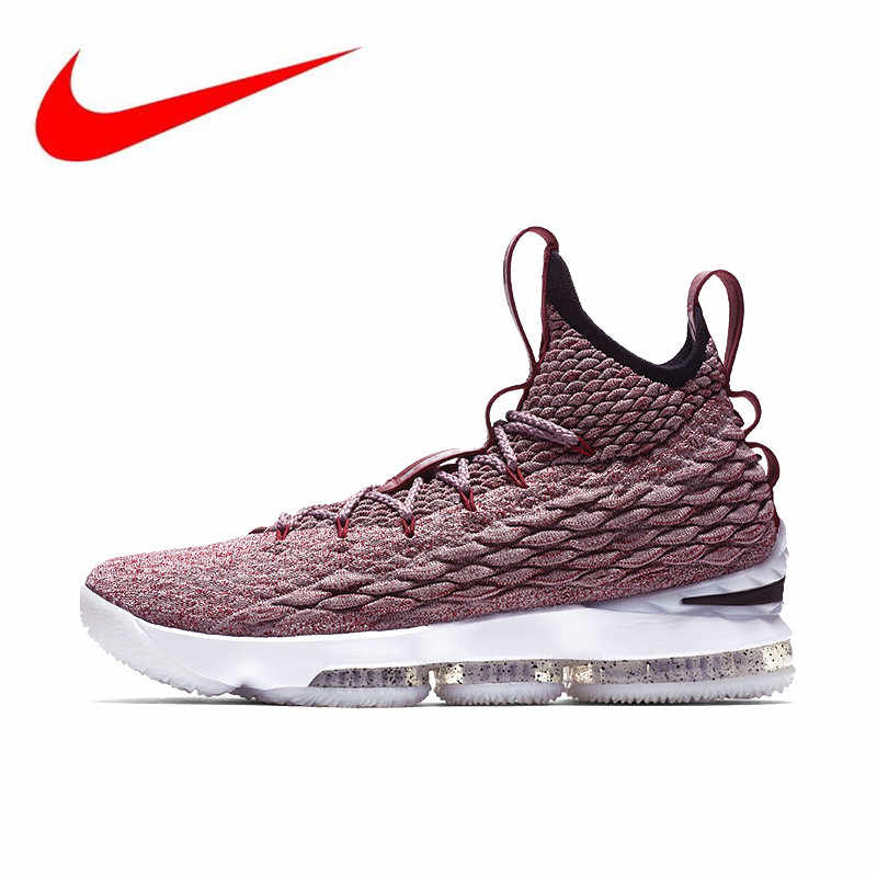 60bfc74d47688 Detail Feedback Questions about Nike Lebron 15 LBJ15 Breathable ...