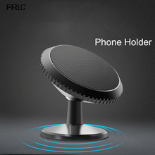 FRLC Phone Magnetic Holder for Smartphone navigation in Car Stand Aluminum Alloy Universal Mobile Bracket