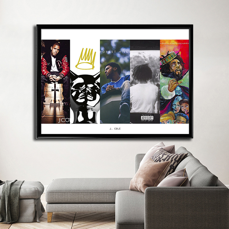 J Cole Forest Hills Drive Homecoming Concert Film Canvas Poster 12x18 24x36 inch