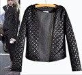 2015 nuevo de las mujeres de lana de invierno acolchada chaqueta de las mujeres de nueva moda casual capa de la chaqueta de Europa y América