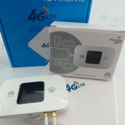 Cat6 300 Мбит/с huawei E5786s e5786s 32 LTE 4g 3g wifi маршрутизатор 4g 3g mifi ключ 4g mifi карманный беспроводной плюс антенна - 3