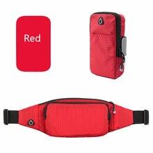 QINYIN Waist Armbag For Mobile Universal Smart Phone Sport Phone pouch Arm bag Cloth Zippered Fitness Running Arm bag pocket стоимость