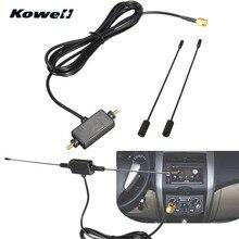Универсальная DVB-T ISDB-T 433 МГц Автомобильная Радио Цифровая Автомобильная ТВ антенна с усилителем сигнала Автомобильная ТВ антенна для Volkswagen VW ТВ-антенна