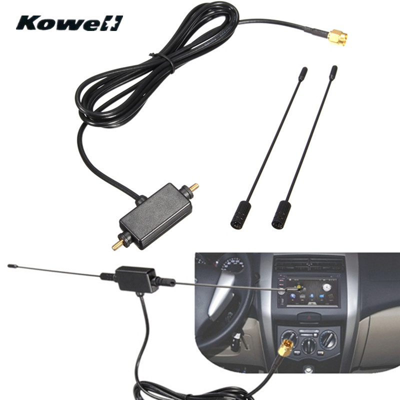 Universal DVB-T ISDB-T 433MHZ Auto Radio Digital Car TV Antenna with Amplifier Signal Car TV Aerial for Volkswagen VW TV-Antenna ...