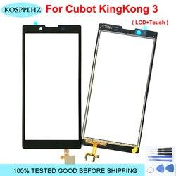 Dla Cubot KING KONG 3 KING KONG3 KINGKONG3 KINGKONG 3 szkło z ekranem dotykowym 100% testowany Digitizer wymienny szklany panel + narzędzia w Panele dotykowe do telefonów komórkowych od Telefony komórkowe i telekomunikacja na
