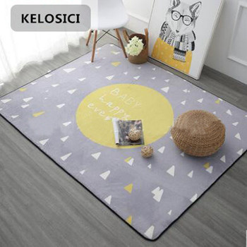 Nordic style Carpet Thicken Soft Kids Room Play Mat Modern Bedroom Large Area Rugs Carpets for baby Living Room Crawl tapete