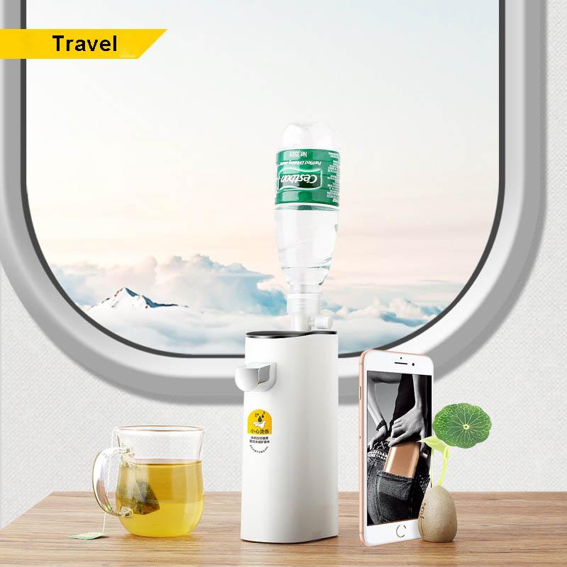 220V Electric Water Dispenser Portable Mini Drinking Bottle Switch Smart Instant Hot Water Pump Drink Dispenser