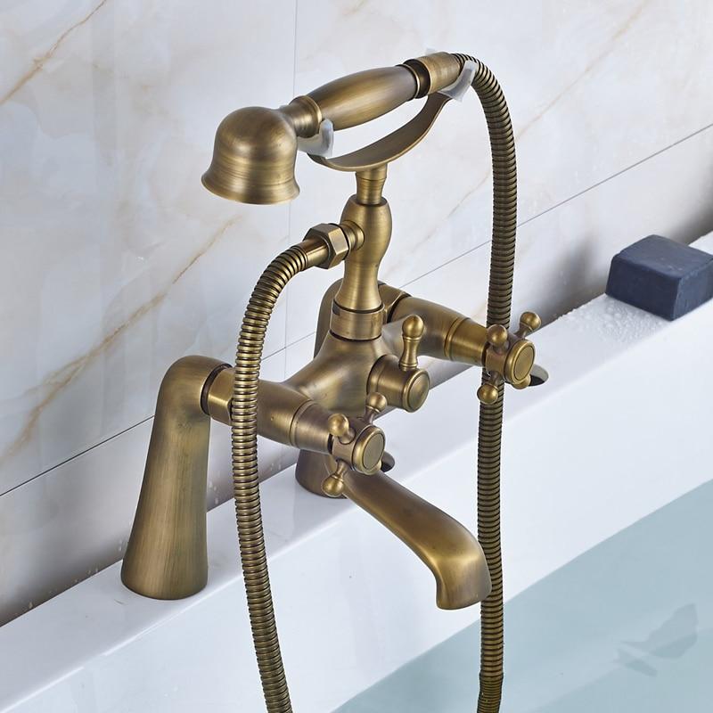 Aliexpress.com : Buy Telephone Style Deck Mounted Bathroom Tub ...