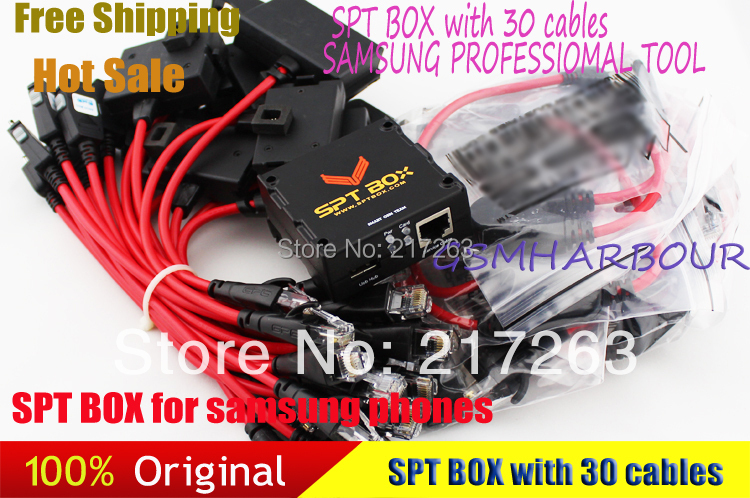 New SPT Box 2 (SPTBOX) + Latest 30 Cables Software Repair