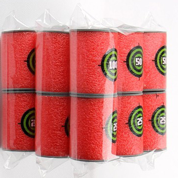 6 Stks/set Merk Hoge Kwaliteit Speciale Behoefte Nf Accessoires Blasters Speelgoed Eva Soft Target Voor Nf N-strike Elite Serie Kids Gift Aangenaam Voor Het Gehemelte