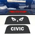 Новый стиль Автомобиля стиль Углеродного Волокна Тормоз Наклейки Задние Стоп-Сигналы наклейки Для Honda civic автомобиль укладки