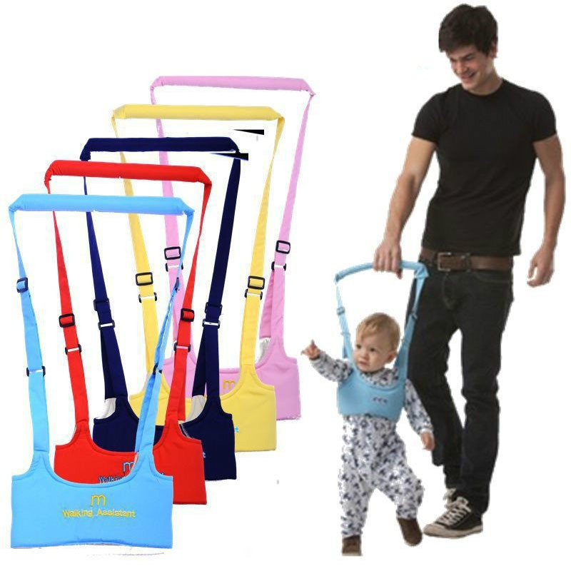 Baby Walker Aid Children Harnesses Leashes Baby Toddler Learning Walk Safety Reins Harness Walker Wings Protection Belt