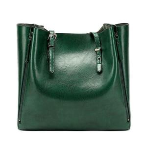 Image 3 - DIDA AYı Yeni Moda Lüks Çanta Kadın Büyük Tote Çanta Kadın Kova omuz çantaları Bayan Deri askılı çanta alışveriş çantası