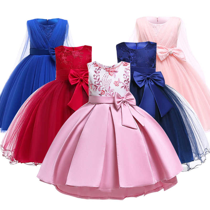 af1b5c68ed5a8 2019 Dress girl Dress Party Birthday Wedding Kids Dresses For Girls Clothes  Children Clothing Princess Elegant Dresses 10 Year