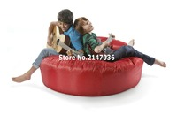 Red Island Bean Bag Chair Outdoor Sofa Cover Guitar Playing Chair