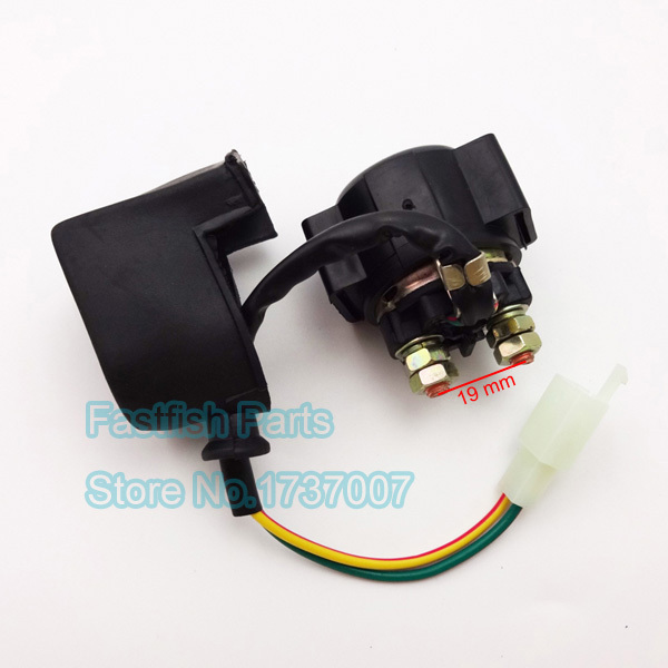 Universal Relay Starter Solenoid 2 Wires For Chinese Pit Dirt Bike 50cc 250cc ATV Quad Moped universal relay starter solenoid 2 wires for chinese pit dirt bike