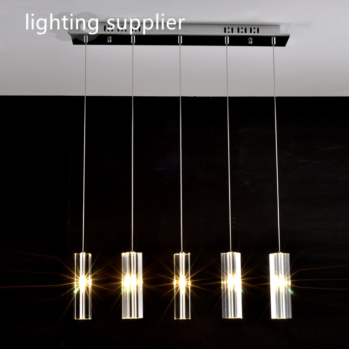 hanging dining room lamp LED Pendant lights Modern Kitchen lamps dining table lighting for dinning room Home pendant light 110v 240v g4 led copper glass pendant lights lamps lighting 1 light d30cm for dining room kitchen cafe bar led hanging lights