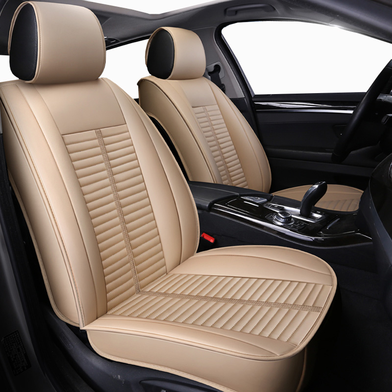 New Leather Universal auto seat covers for volvo 850 c30 s40 s60 s80 s80l v40 v50 v60 v70 xc60 xc70 xc90 of 2006 2005 2004 2003