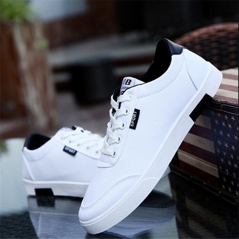 ELGEER Spring and autumn new breathable fashion non-slip men's shoes men's shoes sneakers casual student canvas shoe