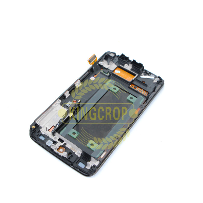 HTB1yz.8grSYBuNjSspfq6AZCpXaW 5.1For Samsung Galaxy S6 Edge LCD G925 G925F SM-G925F Display Touch Screen Digitizer Assembly with frame For SAMSUNG S6 Edge LCD