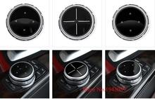 Горячая интерьера Мультимедийные кнопки крышка аксессуары для BMW 1 2 3 4 5 7 серии X1 X3 X4 X5 X6 f30 F10 F15 F16 F34 F07 F01 E70 E71