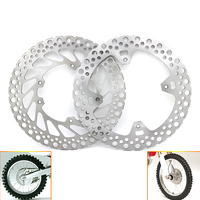 Motorcycle Front Rear Brake Disc Rotor for HONDA CR125E CR125R CR250E CR250R 2002 2008 CRF 250R 250X 450R 450X 2004 2012 D25