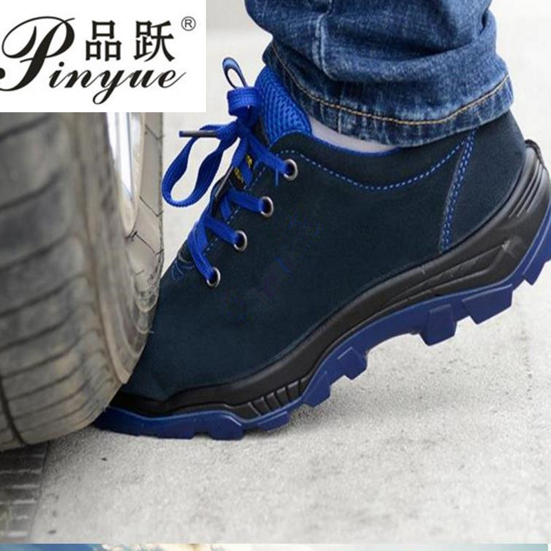 Men Work Safety Shoes Steel Toe Warm Breathable Men's Casual Boots Puncture Proof Labor Insurance Shoes Large Size Male Shoes