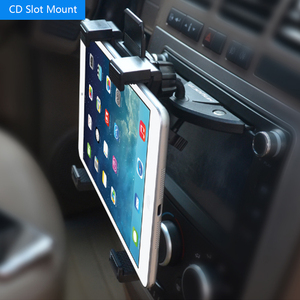 Image 5 - Универсальный автомобильный держатель для планшетного ПК 7 8 9 10 11 дюймов, автомобильный держатель для CD планшетного ПК, подставка для IPad 2 3 4 5 Air для Galaxy Tab