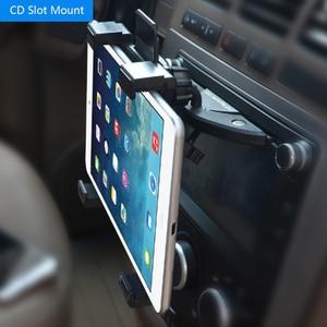 Image 5 - Uniwersalny 7 8 9 10 11 Cal samochodu uchwyt na tablet pc samochodów Auto uchwyt na cd uchwyt na tablet pc stojak na ipad 2 3 4 5 Air dla Galaxy Tab