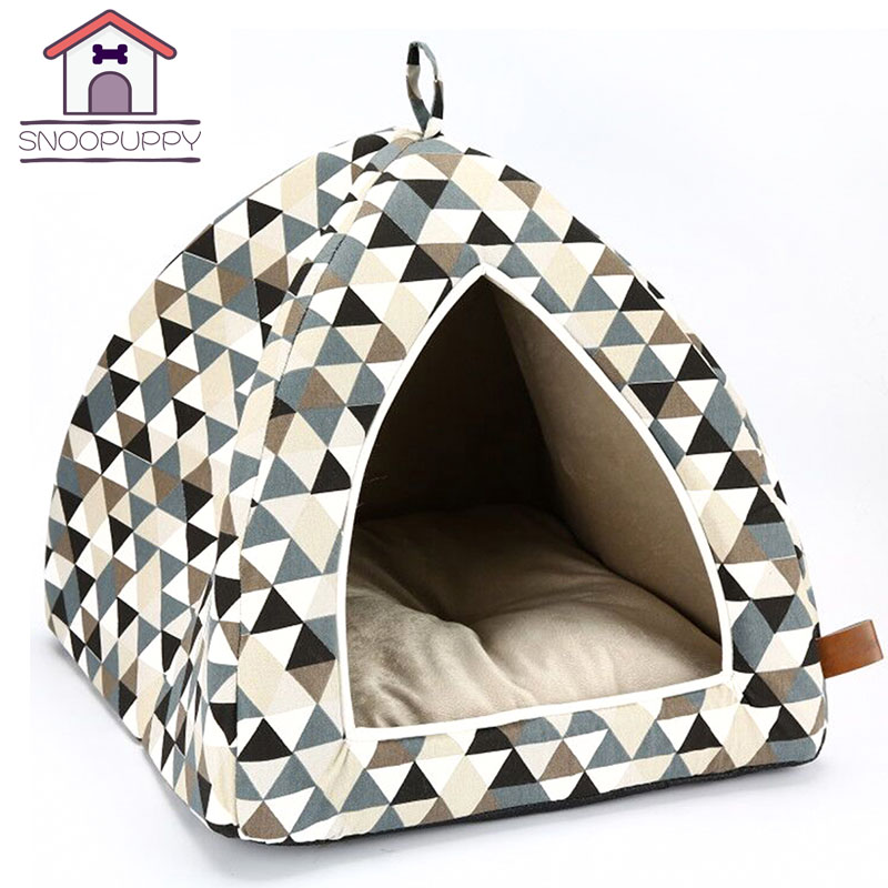 Puppies Soft House Small Pet Cat Dog Bed Sofas For Pet Rest And Sleep For Guinea Pig Pet Breathable All Seasons Dogs Beds PY0149