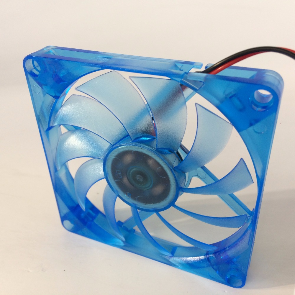 Image 5 - DIY 2 pcs/lot PC Computer Fan 80mm 8CM DC 12V Oil Bearing  Cooling Cooler 80mmx80mmx10mm-in Fans & Cooling from Computer & Office