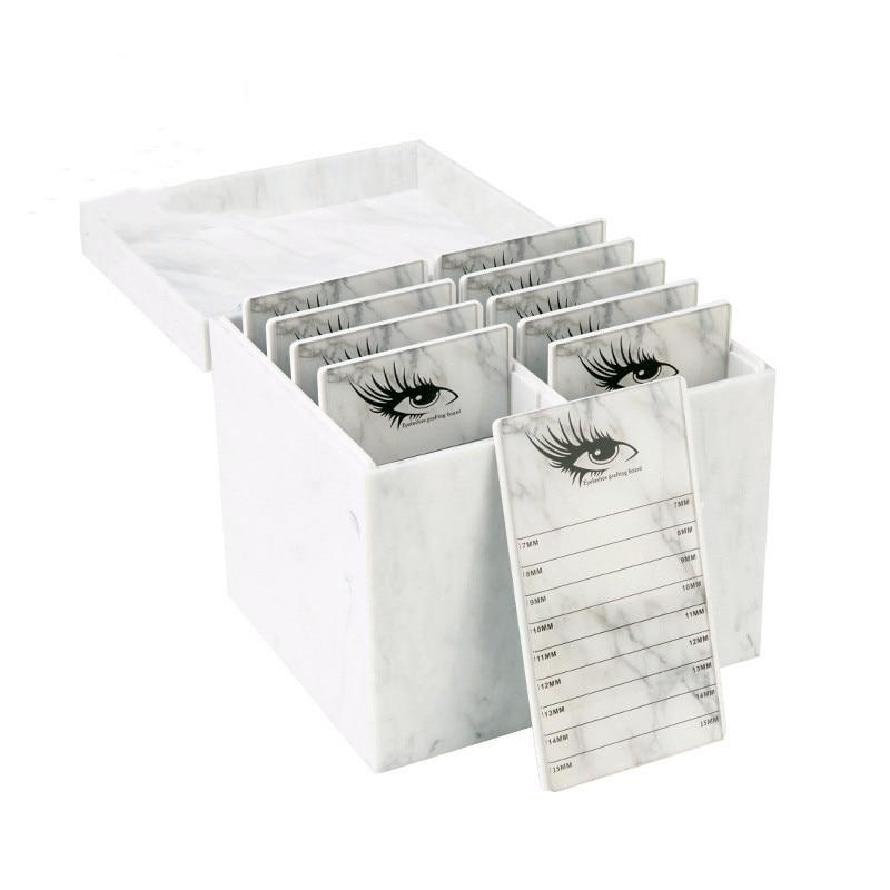 Eyelash Storage Box10 Layers Makeup Organizer False Eyelashes Glue Pallet Holder Grafting Eyelashes Extension Makeup Tool
