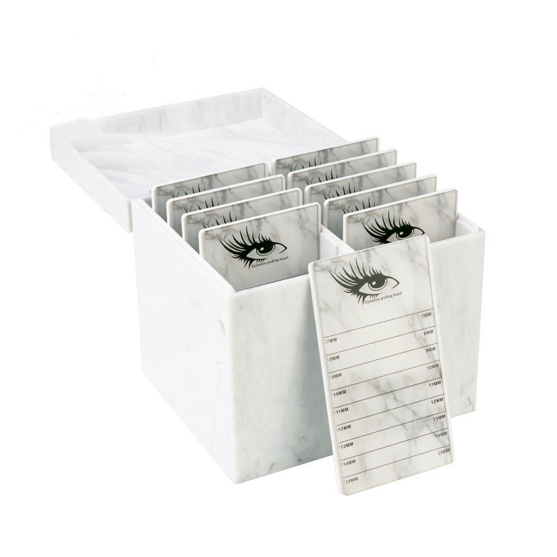 Eyelash Storage Box10 Layers Makeup Organizer False Eyelashes Glue Pallet Holder Grafting Eyelashes Extension Makeup Tool