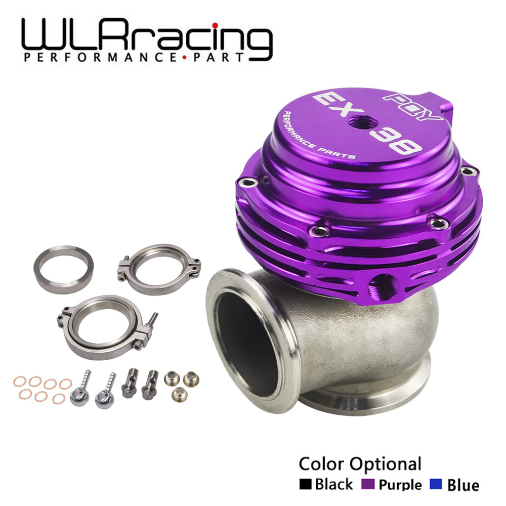 все цены на WLR RACING - EX 38mm WASTEGATE WITH V-BAND AND FLANGES TURBO WASTEGATE WITH PQY LOGO WLR5831-QY