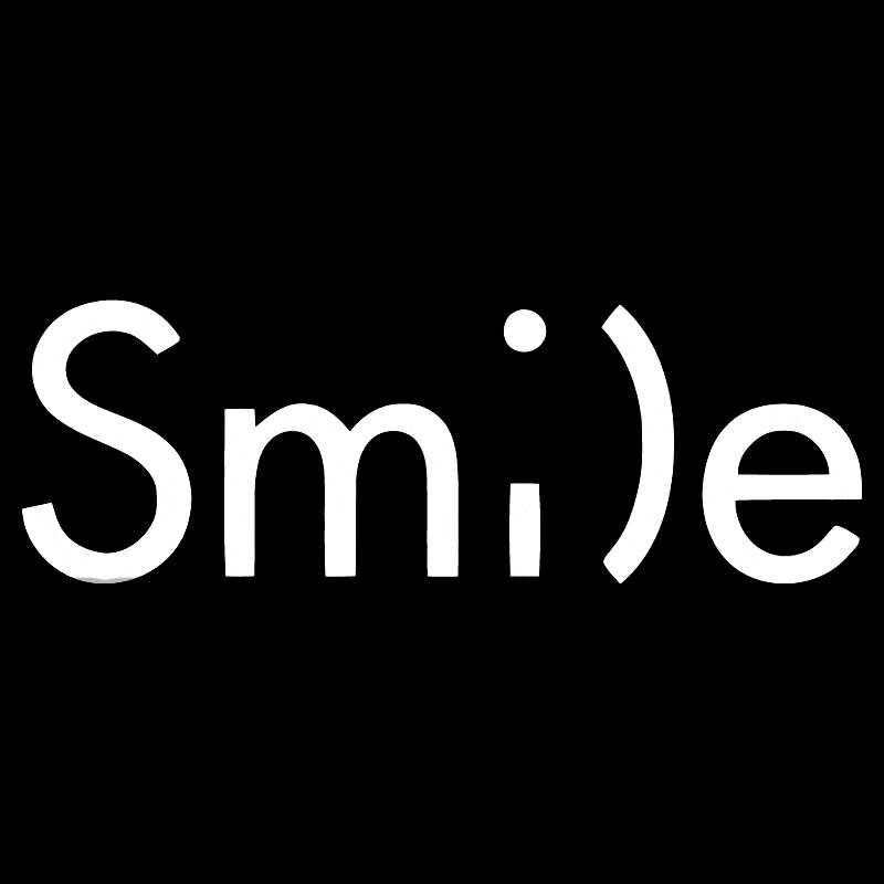 15.1x5 سنتيمتر ابتسامة مبتسم سعيد smi الفينيل صائق أسود/الفضة سيارة ملصق الأصالة السيارات التصميم S8-0672