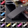 Venta caliente mate transparente ultra-delgado caso bolsos del teléfono móvil para el iphone 4 4S 5 5S 5c SE 6 6 s 6 plus de Protección cubierta