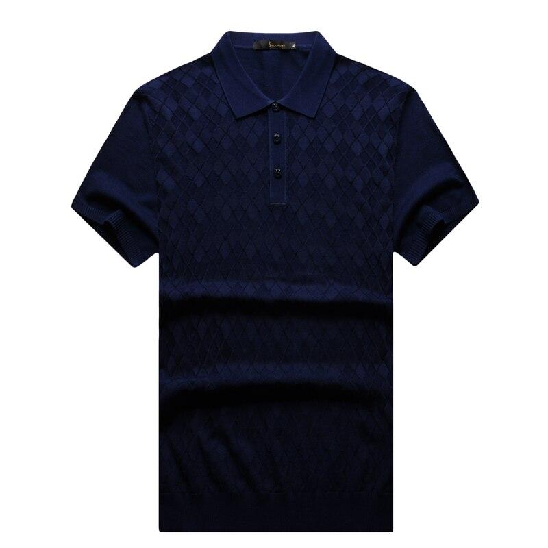 เศรษฐีอิตาลีตูเสื้อยืดผู้ชาย2017รูปแบบใหม่พาณิชย์สบายสีทึบเรขาคณิตออกแบบจัดส่งฟรี-ใน เสื้อยืด จาก เสื้อผ้าผู้ชาย บน   1