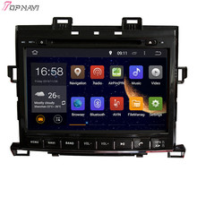 "9"" Quad Core Android 5.1 Car Multimedia GPS For TOYOTA Alphard 2007-  With Stereo DVD Radio16GB Flash Mirror Link Free Shipping"