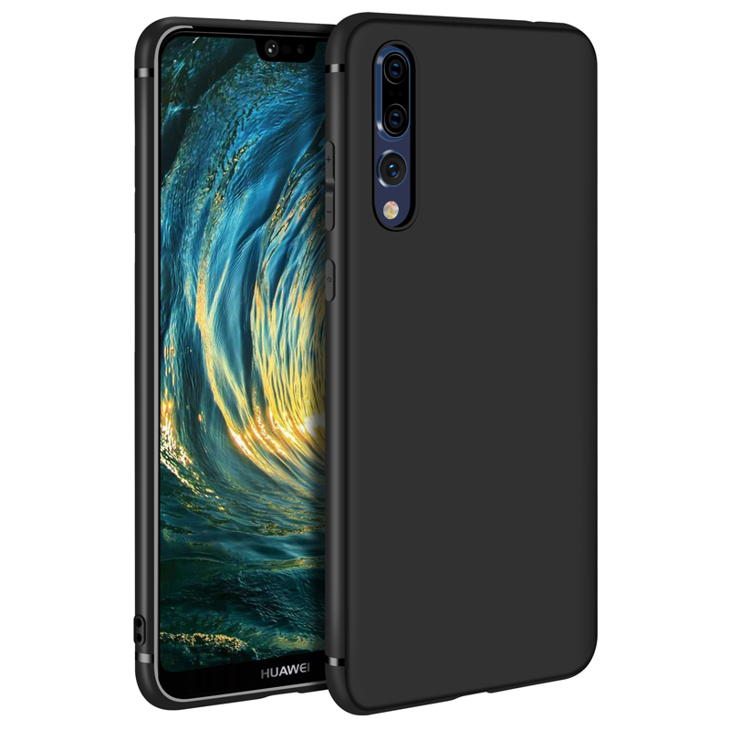 Slim Ultrathin Case For Huawei P20 Pro Cases Luxury Frosted Soft Silicone Tpu Case for Huawei P20 P 20 Cover for Huawei P20 lite