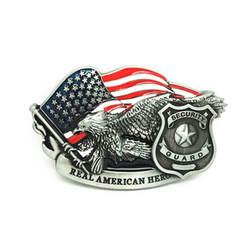 Ремень Интимные аксессуары охранник реальные Американский Hero Американский Флаг Орел металл Пряжка на ремешке