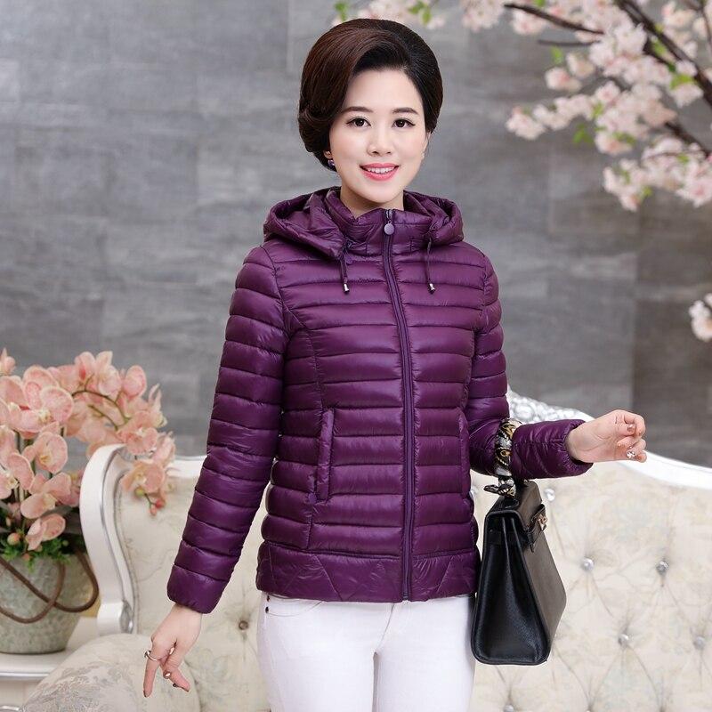 Winter coat women  2017 Women Slim female Hit color winter jacket women  buckle coat women's jacket Winter winter